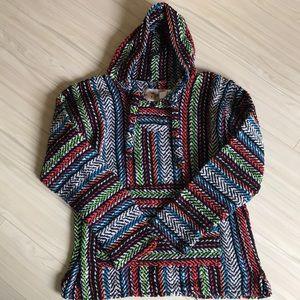 Earth Ragz Sweaters - Earth Ragz Baja Joe Mexican Baja Hoodie